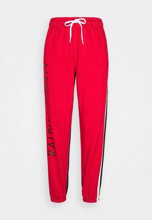 ANKLE ATHLETIC - Spodnie treningowe - polo black/red