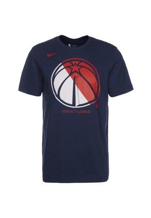 WASHINGTON WIZARDS - Print T-shirt - college navy