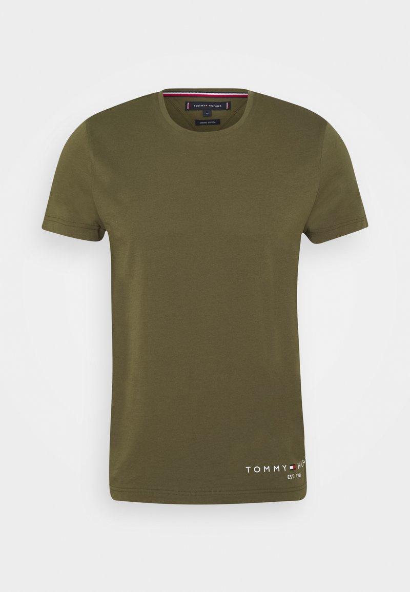 Tommy Hilfiger - LOGO TEE - Print T-shirt - putting green