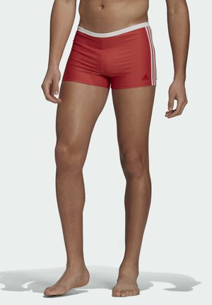 3-STREIFEN BOXER-BADEHOSE - Swimming trunks - red