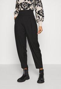 EDITED - LELIA PANTS - Trousers - schwarz - 0