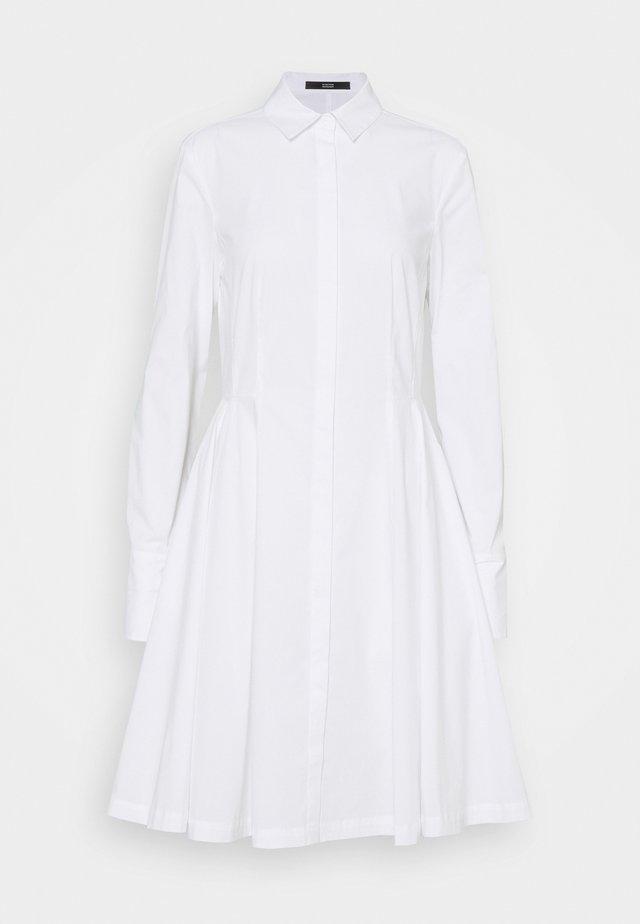SUMMER DRESS - Shirt dress - white