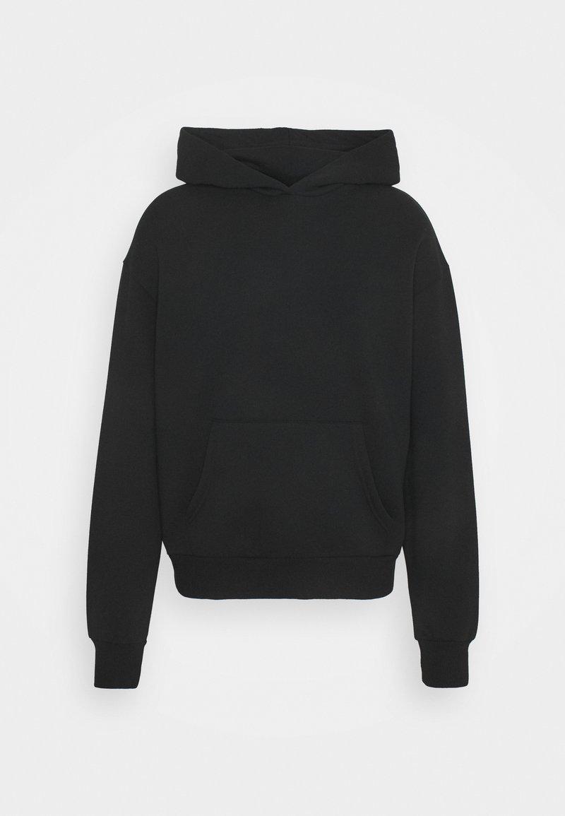 NU-IN - BASIC HOODIE - Sweatshirt - black