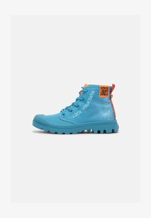 PAMPA UNISEX - Lace-up ankle boots - blue moon