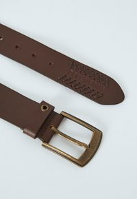 Pepe Jeans - PAOLO  - Belt - marrón oscuro - 1