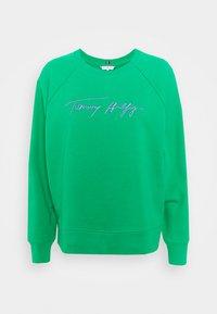 RELAXED SCRIPT - Sweatshirt - primary green