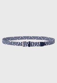 zero - Braided belt - dark blue - 1