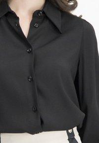 Nicowa - Button-down blouse - black - 3