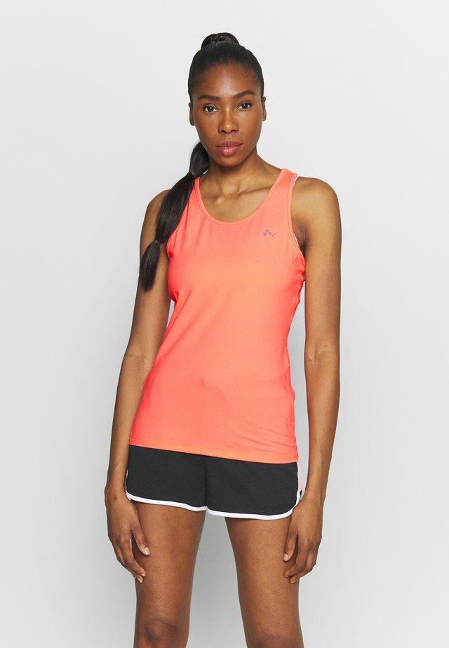 ONPCLARISSA TRAINING - Sportshirt - neon orange