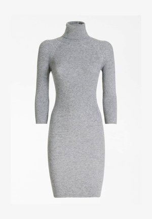 KLEID HOHER KRAGEN - Sukienka etui - grau