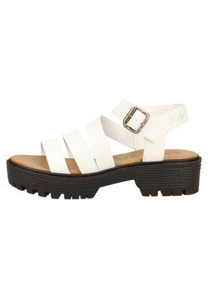 BLOWFISH SANDALEN - Sandalen met plateauzool - white