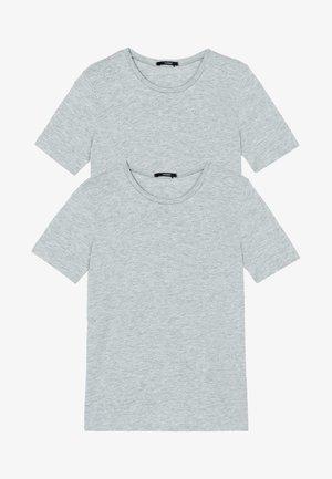 2 PACK - Basic T-shirt - grigio mel chiaro