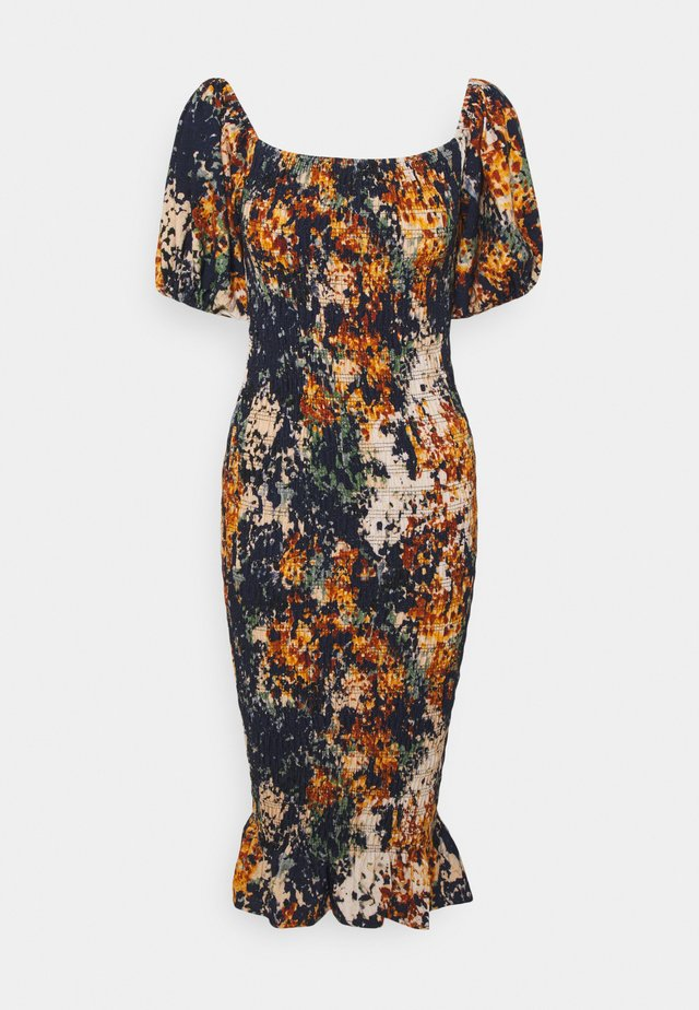 BLOOM PRINT JOJO DRESS - Day dress - navy/multi