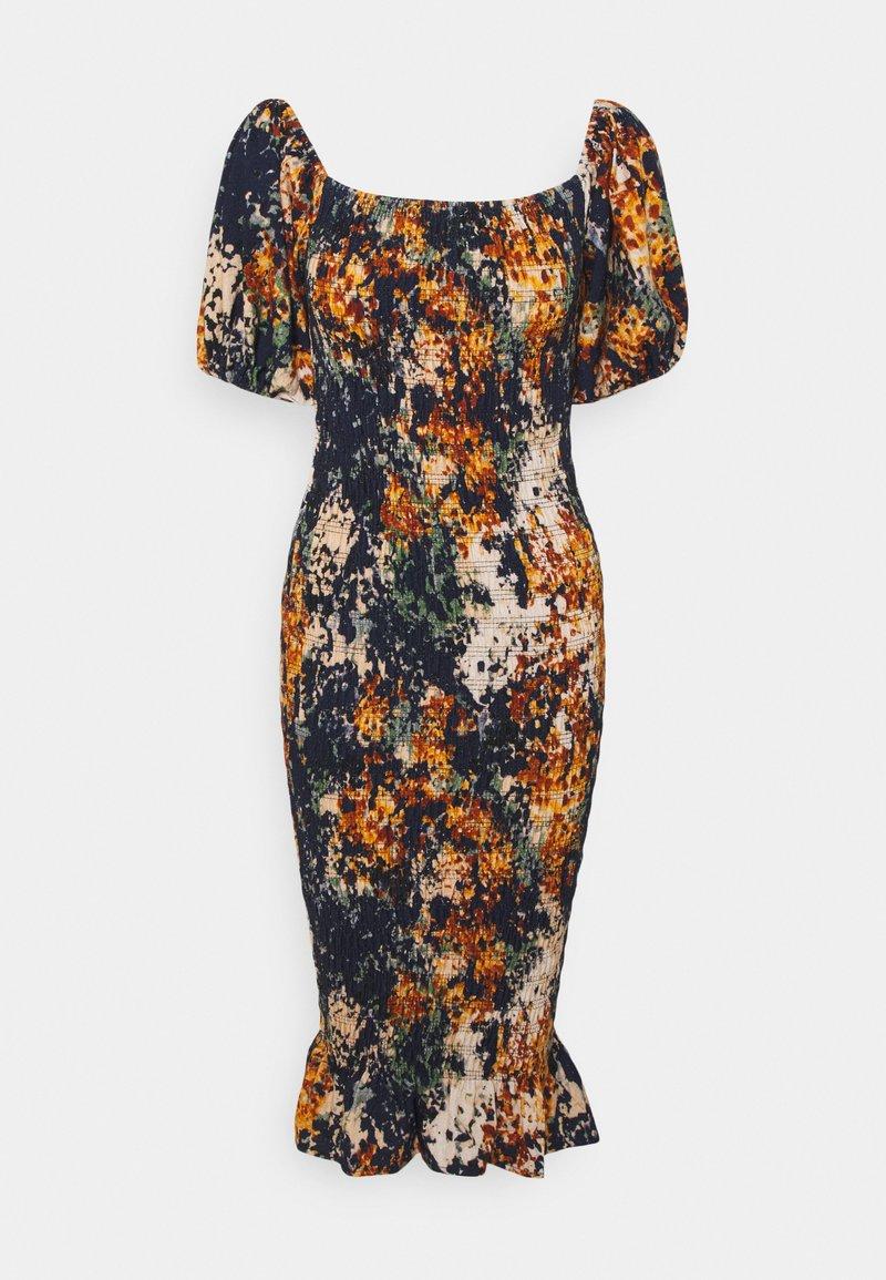 Never Fully Dressed - BLOOM PRINT JOJO DRESS - Day dress - navy/multi