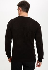 DeFacto - JUMPER - Strickpullover - black - 2