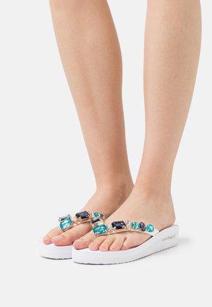 T-bar sandals - white sky