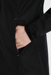 Helly Hansen - LONG BELFAST JACKET - Outdoor jacket - black - 3