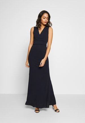 PLUNGE MAXI DRESS - Vestito lungo - navy blue