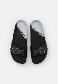 Tommy Jeans - IRIDESCENT FLAT MULE - Mules - black - 5