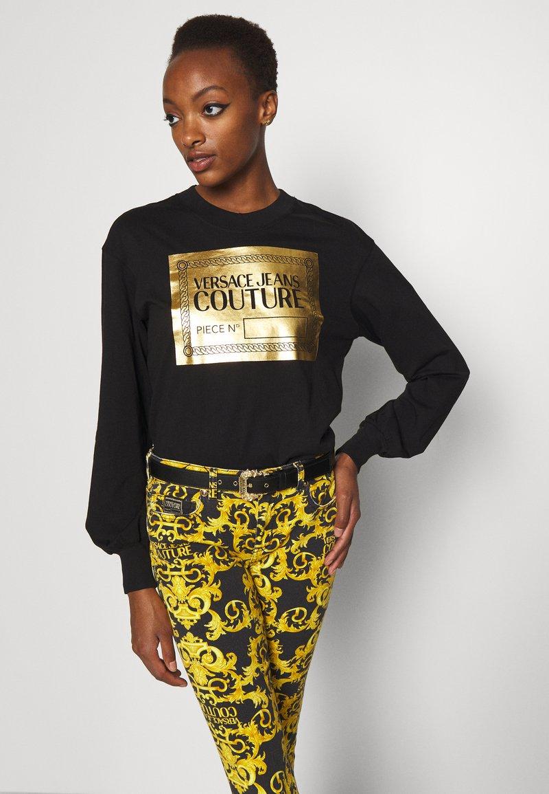 Versace Jeans Couture - VITELLO BELTS - Belt - nero