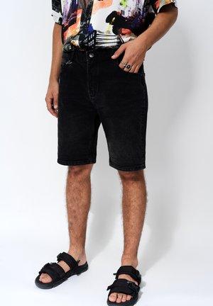Jeans Short / cowboy shorts - dark grey