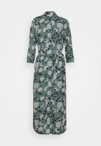 ONLNOVA LIFE DRESS - Maxi dress - balsam green/white flower