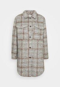 Object - OBJSOLA LONG - Short coat - light grey melange - 4