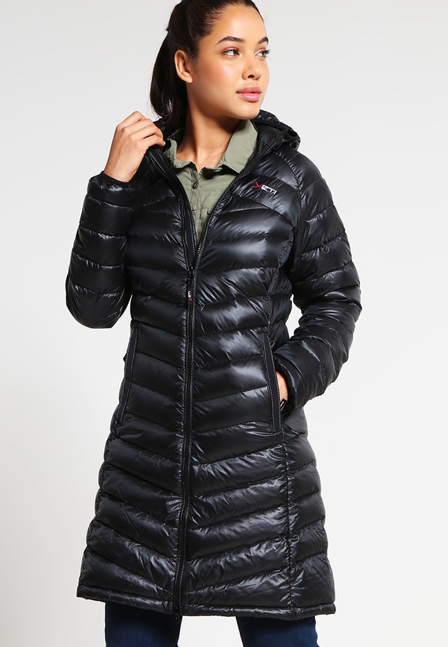 PEARTH - Down coat - black