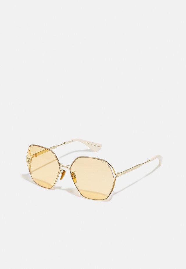 Sunglasses - gold-coloured/orange