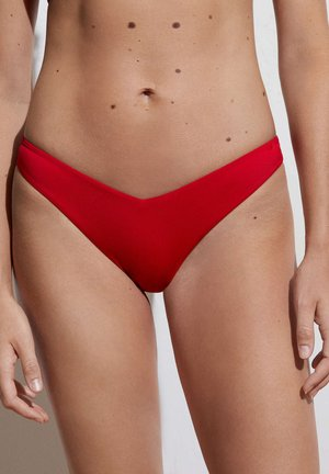 V-CUT - Bikini bottoms - red