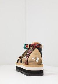 Teva - MIDFORM CERES WOMENS - Walking sandals - double diamond/firey red - 3