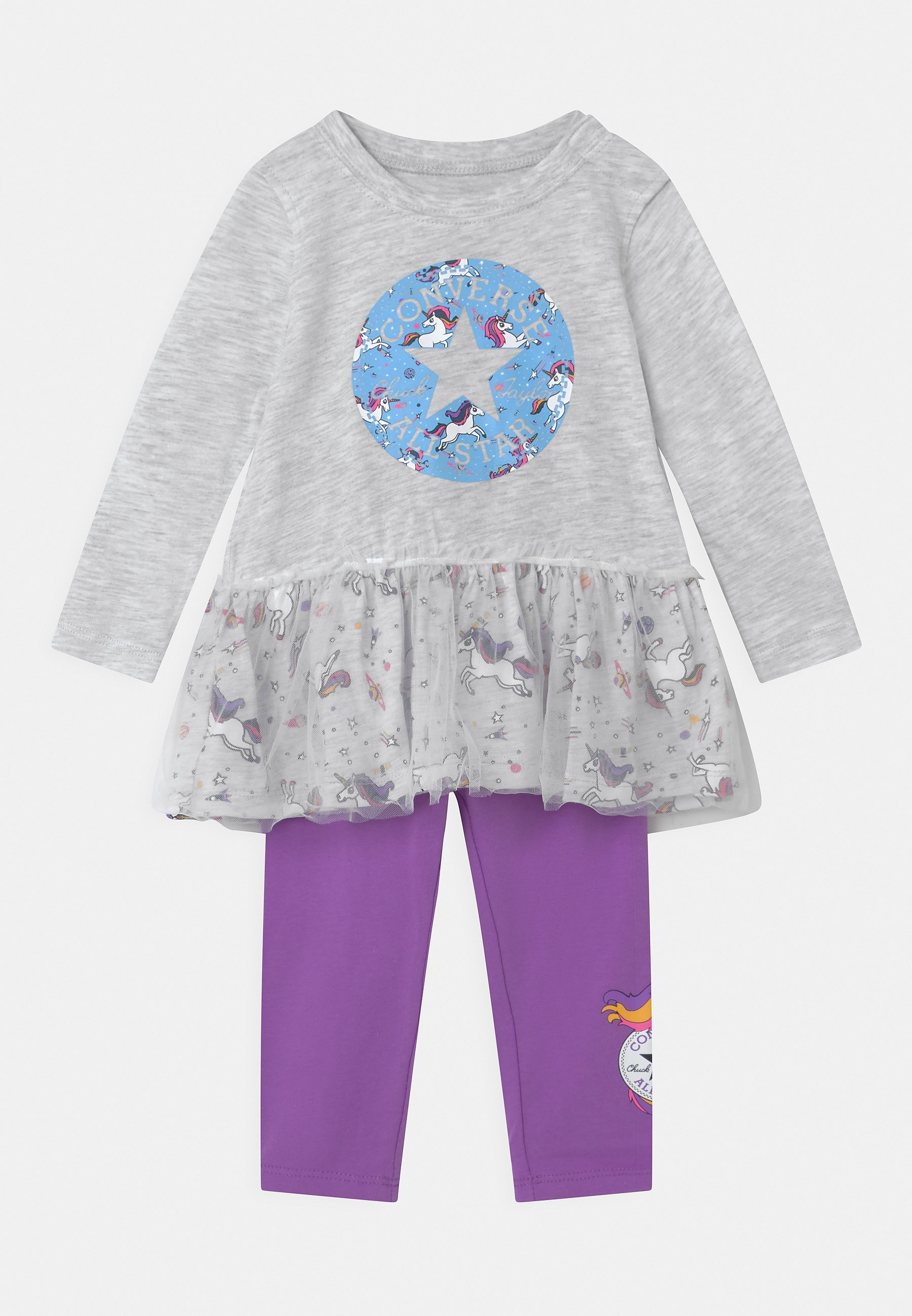 Kids RUFFLE SET - Leggings - Trousers