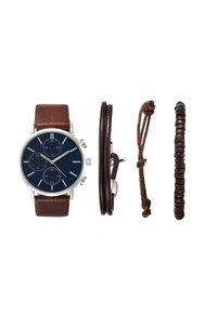 Pier One - SET - Watch - cognac - 0