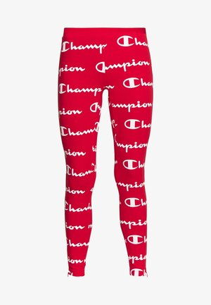 7/8 LEGGINGS - Leggings - red