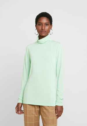 ALEXA ROLLNECK - Long sleeved top - green ash