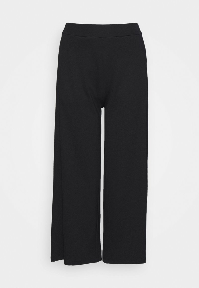 Marc O'Polo - CULOTTE CROPPED LENGTH - Kalhoty - black