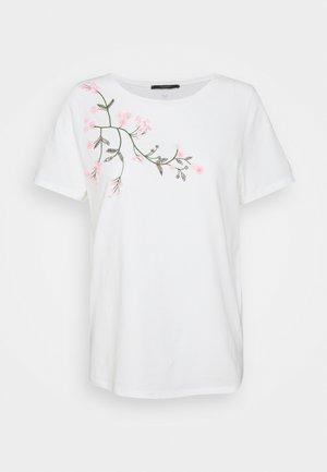 TRACIA - Print T-shirt - weiss