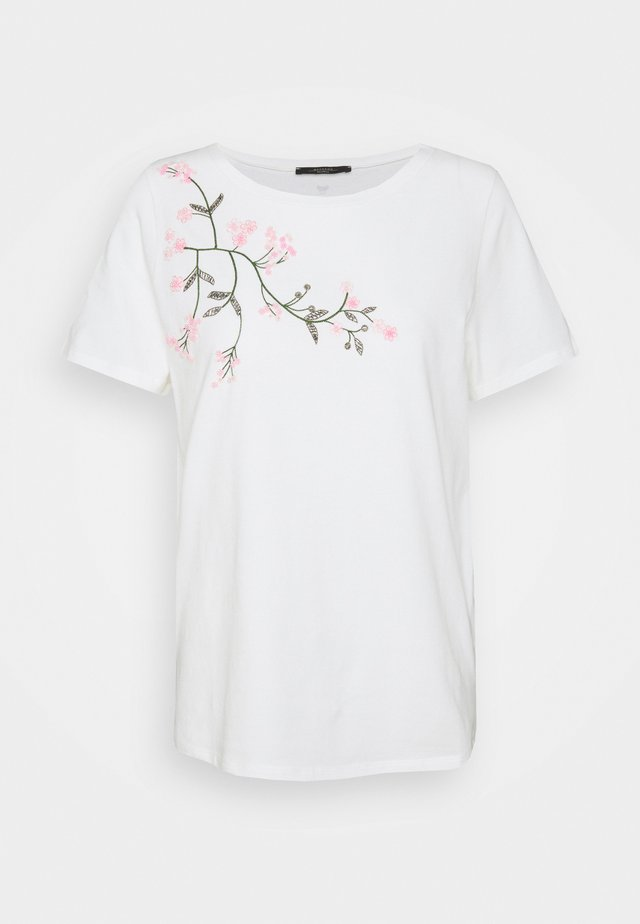 TRACIA - T-shirts med print - weiss