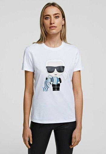 AQUARIUS - T-Shirt print - white