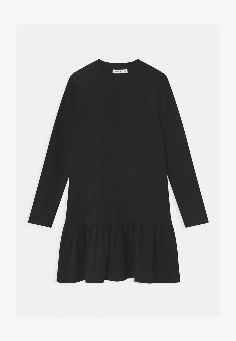 Name it - NKFROLUMA - Jumper dress - black