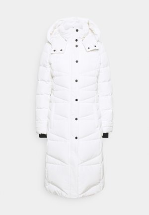 Down coat - off-white