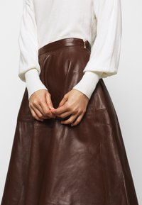 STUDIO ID - TESSA SKIRT - A-Linien-Rock - brown - 6