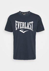 Everlast - BASIC TEE RUSSEL - Triko spotiskem - navy - 0
