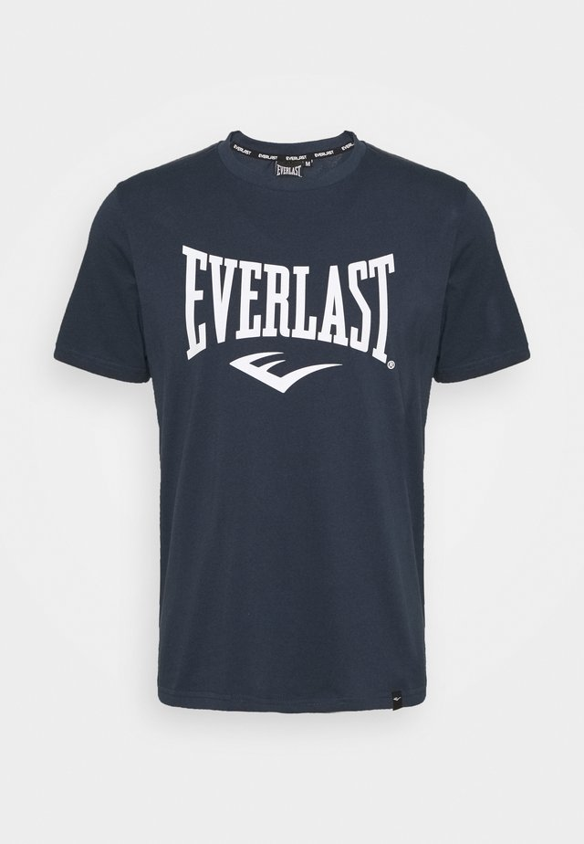 BASIC TEE RUSSEL - T-shirt con stampa - navy