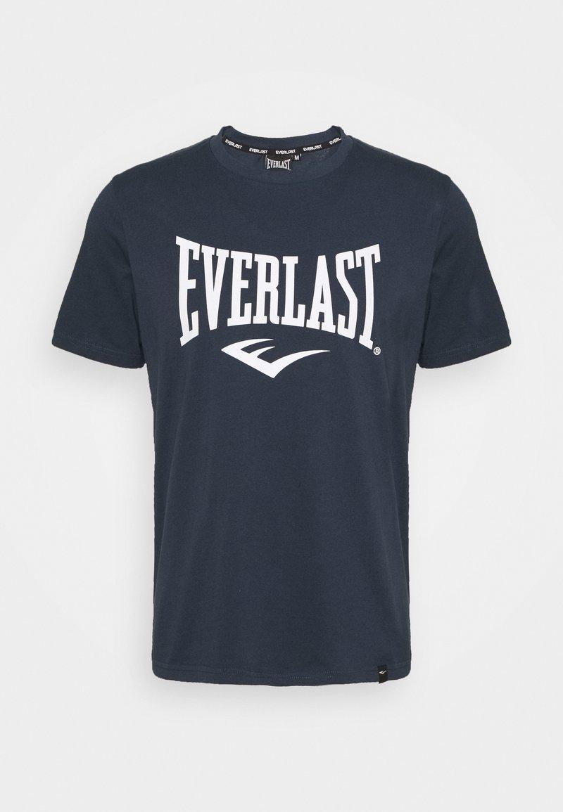 Everlast - BASIC TEE RUSSEL - Triko spotiskem - navy