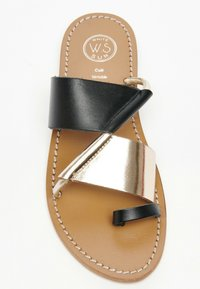 White Sun - COLIN  - T-bar sandals - black - 2