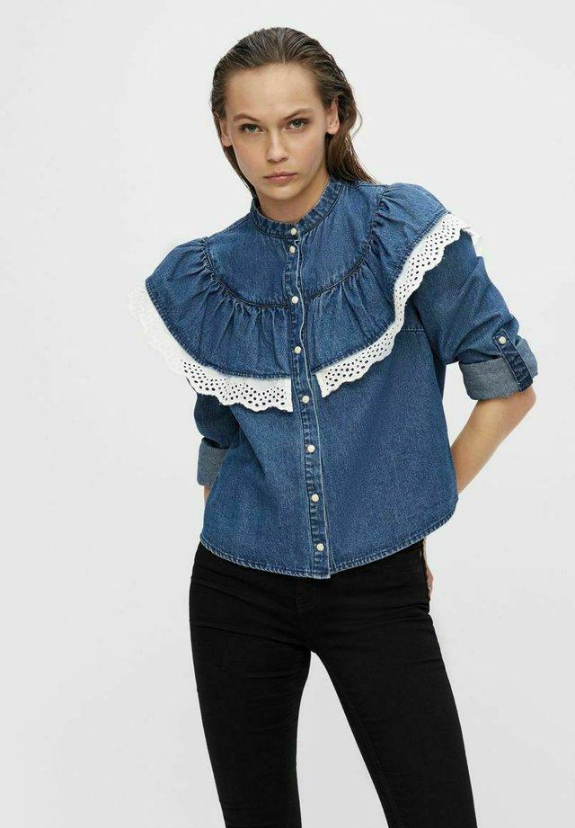 Camicia - medium blue denim