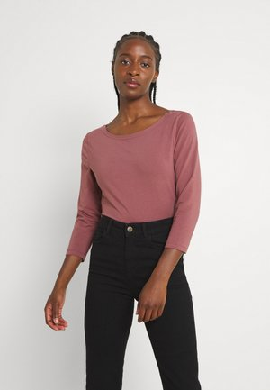 ONLFIFI BOATNECK BOX  - Long sleeved top - rose brown