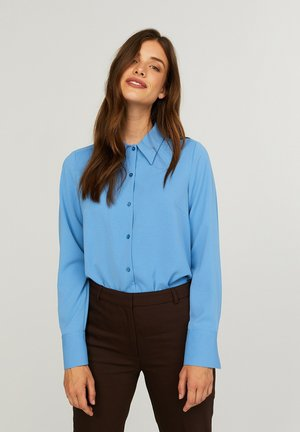 CARLA  - Button-down blouse - riviera