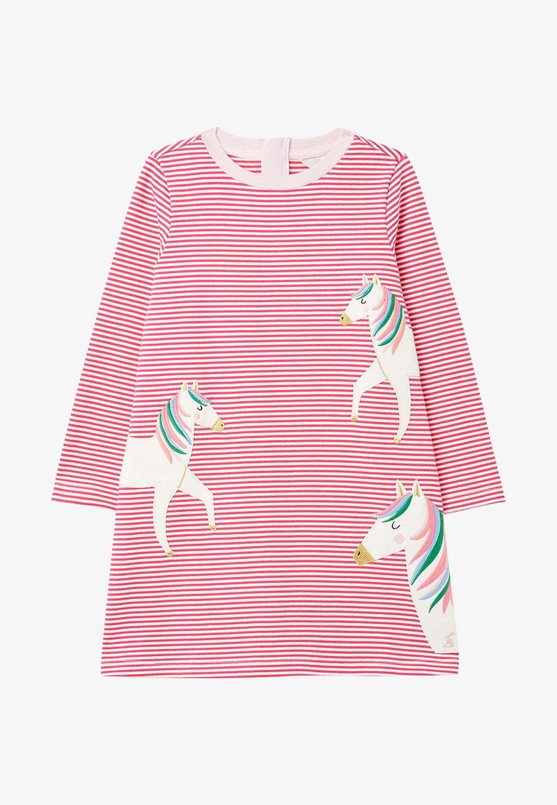 Tom Joule - Day dress - rosa drei pferde